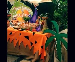 candy bar, decoracion, and the flintstones image