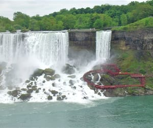 canada, falls, and mist image