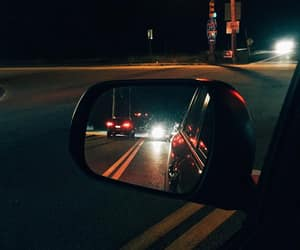 car, driving, and night image