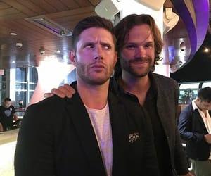 jared padalecki and Jensen Ackles image