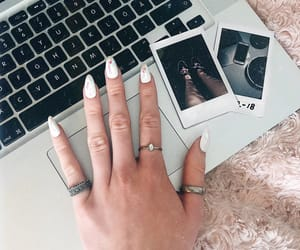 girly, laptop, and macbook image