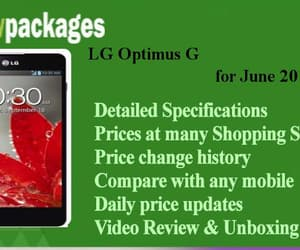 viewpackages, lg optimus g review, and lg optimus g price image