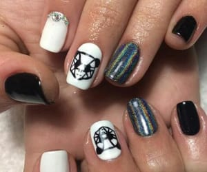 nails, uñas, and nails art image