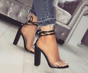 black, zapatos, and negros image