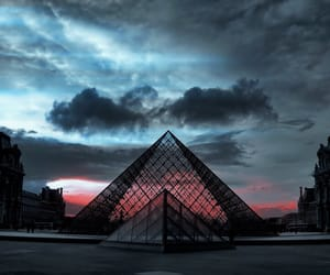 beautiful, louvre, and france image