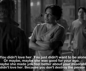 love, grey's anatomy, and life image