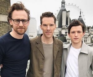 spiderman, loki, and doctor strange image