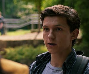 gif, spider-man, and peter parker image