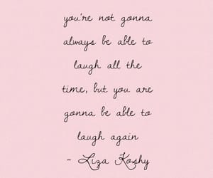 happy, laugh, and quote image