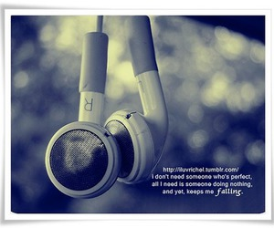 earphones and quotes image