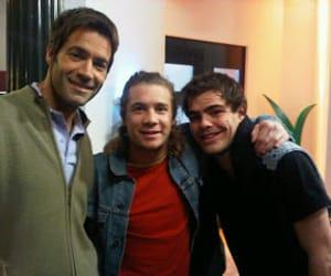 peter lanzani, tomy dunster, and nicolas riera image