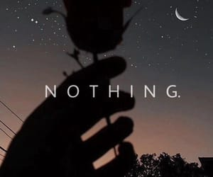 night and nothing image