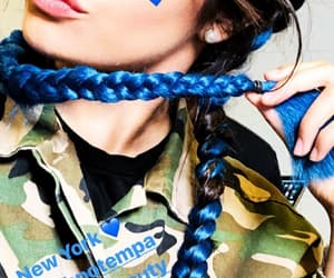 blue hair, hairstyles, and camila cabello image