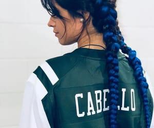 camila cabello, blue, and hair image