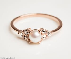 jewelry, pearl, and ring image