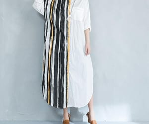 etsy, long shirt, and white dress image