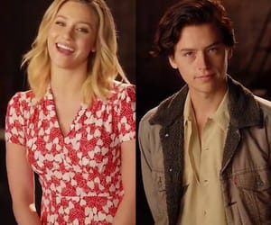 serpents, cole sprouse, and riverdale image