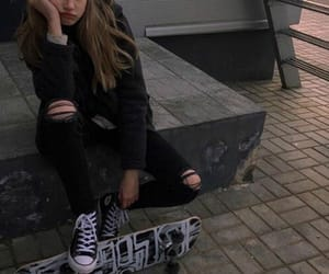 gray, skate, and aesthetic image