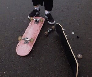 aesthetic, gray, and skate image