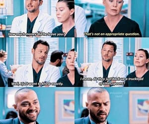 greys anatomy, quotes, and tv show image