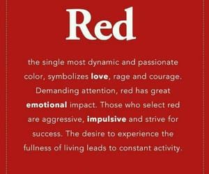 emotion, red, and lové image