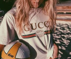 ball, gucci, and sport image
