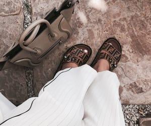 bag, fendi, and shoes image