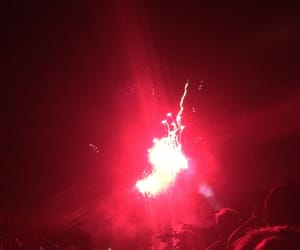 14, fireworks, and red image