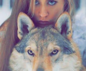 animal, girl, and tumblr image