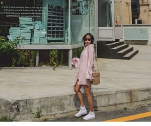 asian fashion, kstyle, and kfashion image