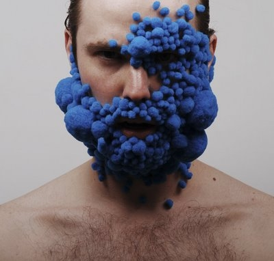 blue, art, and face image