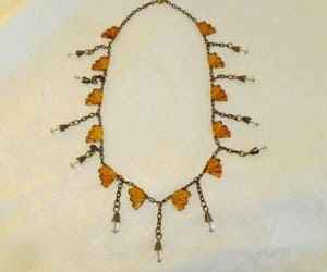 etsy, art deco necklace, and czech jewelry image