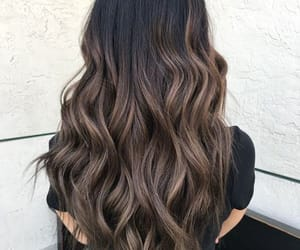hair, hairstyle, and hair color image