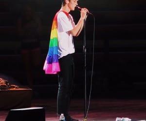 troye sivan, rainbow, and gay image