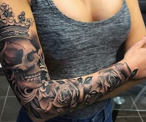 amazing, tatoo, and crown image