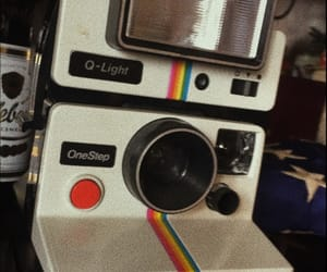 aesthetic, camera, and rainbow image
