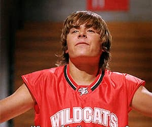 funny, gif, and high school musical image