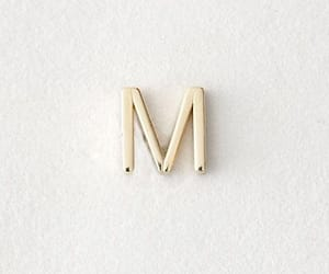 M, Letter, and aesthetic image