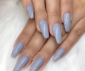 nails, design, and grey image