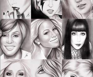 Adele, divas, and Lady gaga image