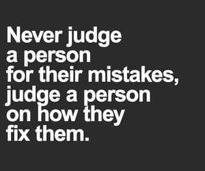 judge, mistakes, and person image
