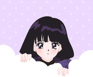 anime, background, and girly image