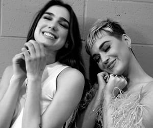 black&white, celebrity, and dua lipa image