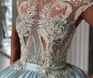 dress, details, and beauty image