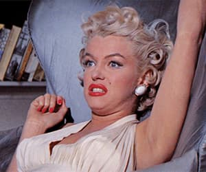 gif, the seven year itch, and Marilyn Monroe image