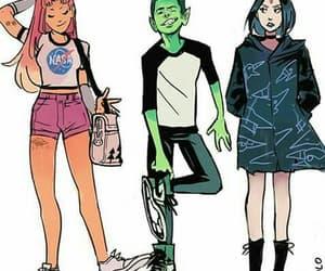 teen titans, fan art, and fanart image