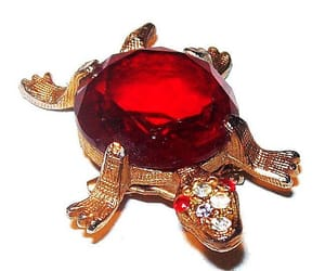 etsy, vintage jewelry, and animal brooch image
