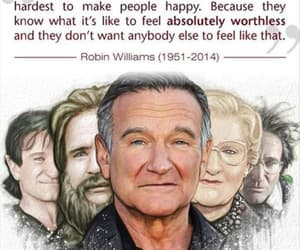 robin williams, quotes, and sad image
