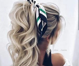 girls, style, and hair image