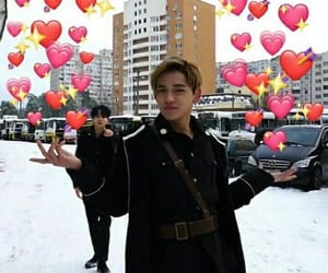nct, lucas, and reaction image